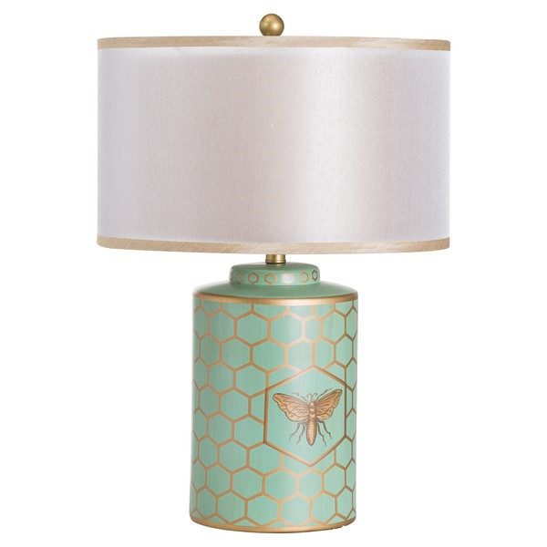 Harley Bee Table Lamp With Double Layer Shade