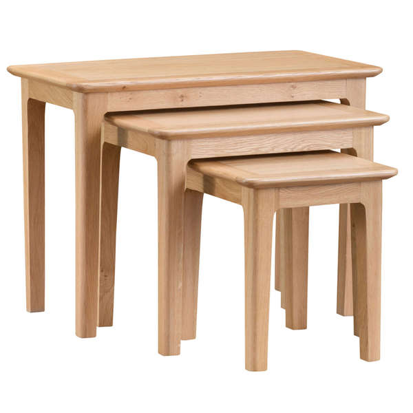 Harlow Collection Nest of 3 Tables