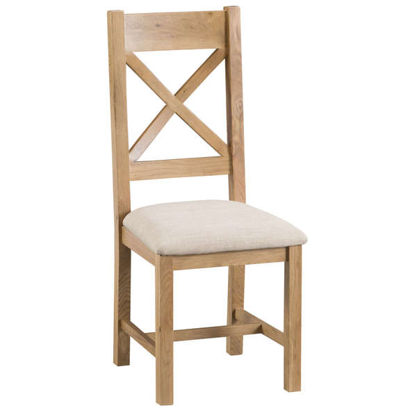 Howgrave Collection Upholstered Cross Back Chair