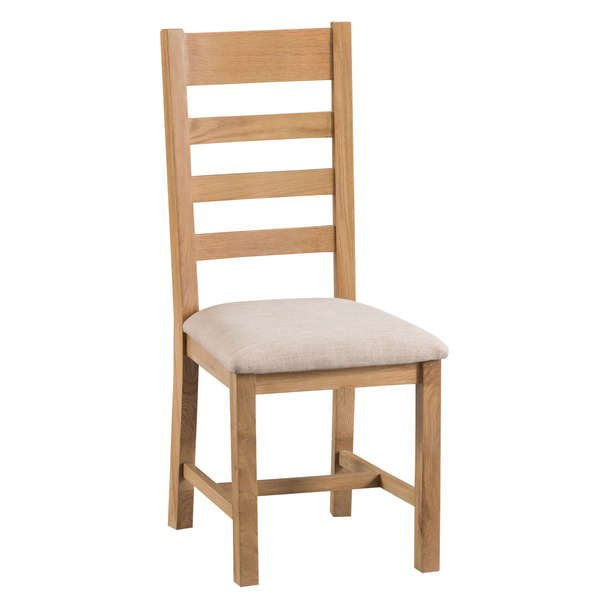 Howgrave Collection Upholstered Ladder Back Chair