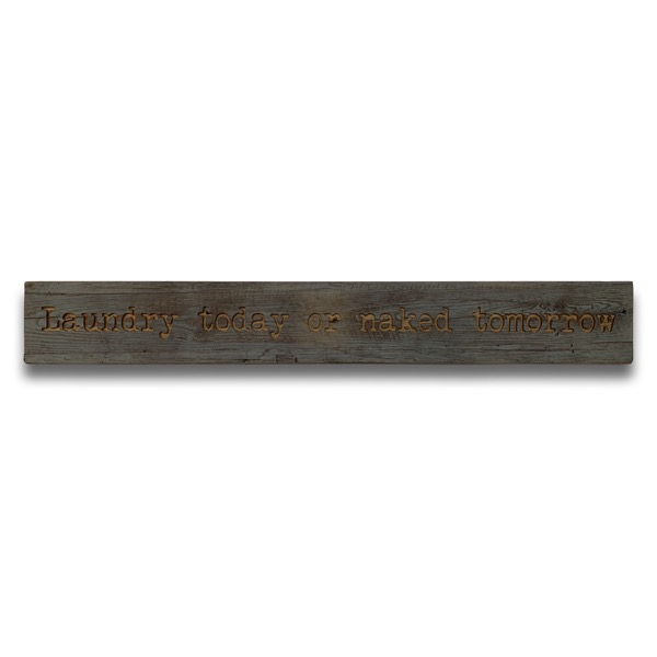 I Love You Grey Wash Wooden Message Plaque