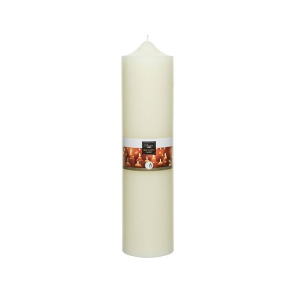 Ivory Wax Chrch Candle 10X40Cm