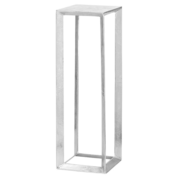 Large Cast Silver Plant Stand