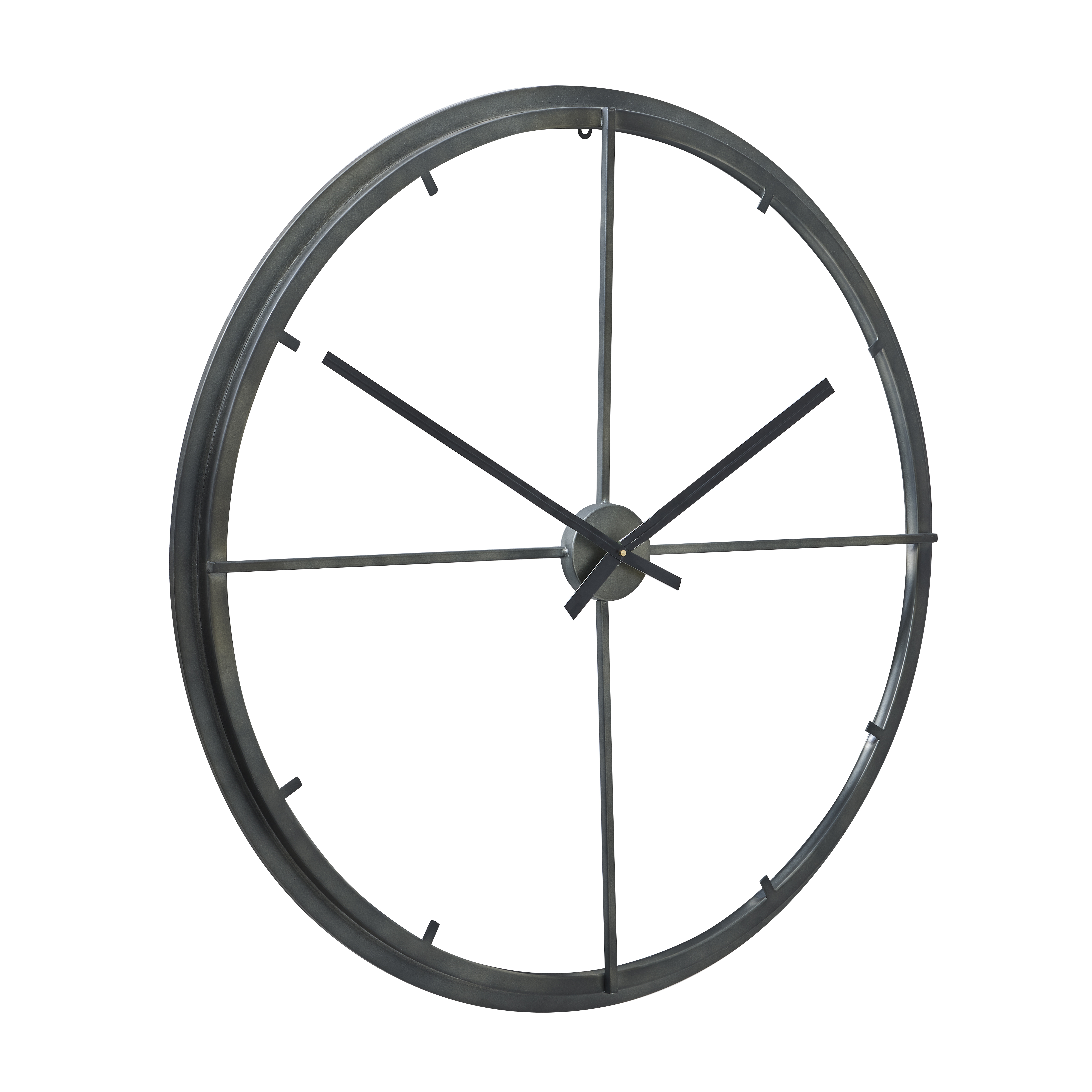 Large Contemporary Skeleton Wall Clock