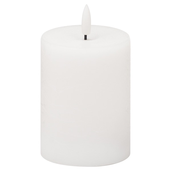 Luxe Collection Natural Glow 3x4 LED White Candle