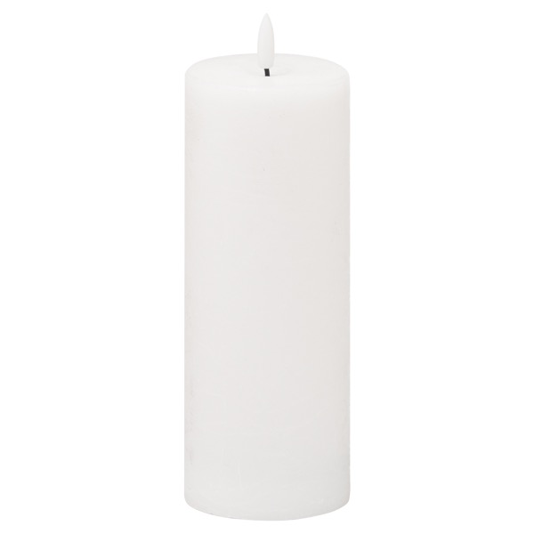 Luxe Collection Natural Glow 3x8 LED White Candle