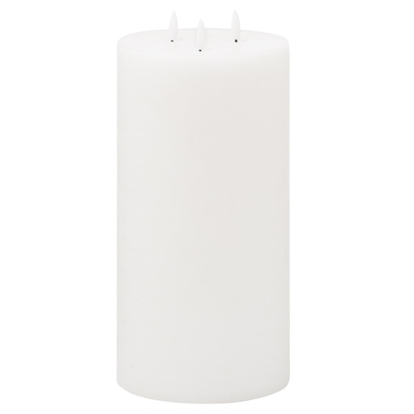 Luxe Collection Natural Glow 6x12 LED White Candle