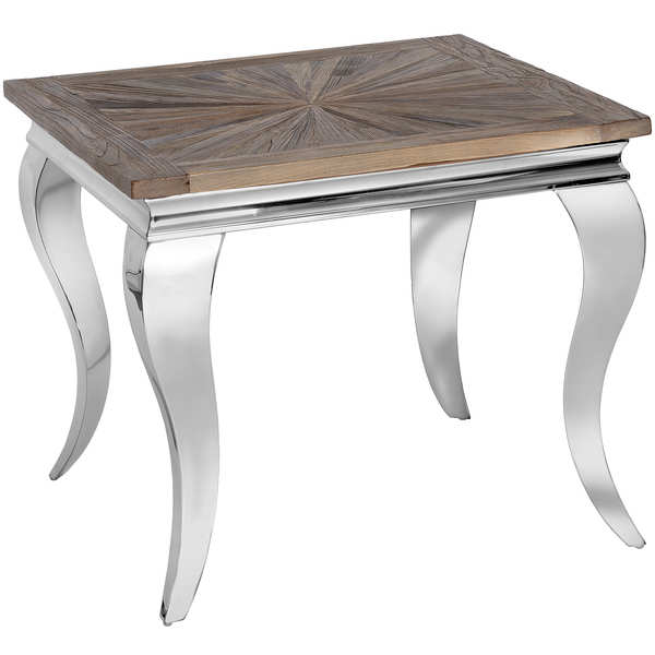 Mayfair Collection Reclaimed Elm Side Table