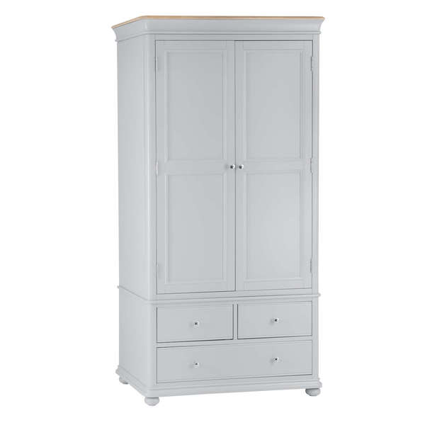 Roseberry Collection Double Wardrobe