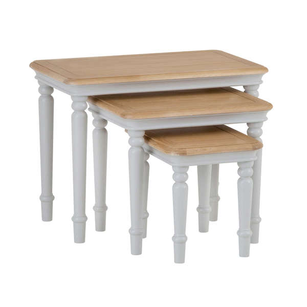 Roseberry Collection Nest 3 Table