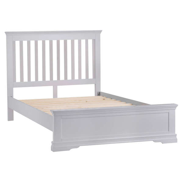 Sandbanks Collection Grey Double Bed Frame