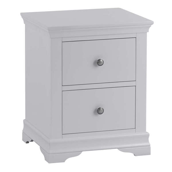 Sandbanks Collection Grey Large Bedside