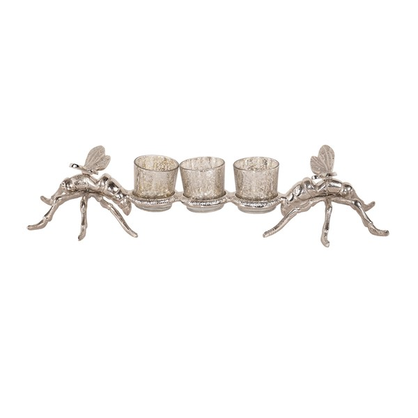 Silver Large Dragonfly Tealight Holders