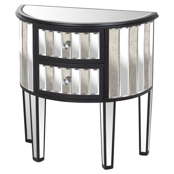 Soho Collection 2 Drawer Side Table