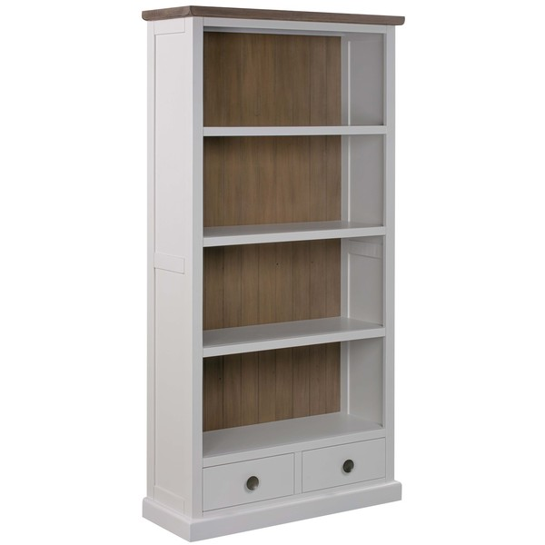 The Hampton Collection Two Drawer Bookcase