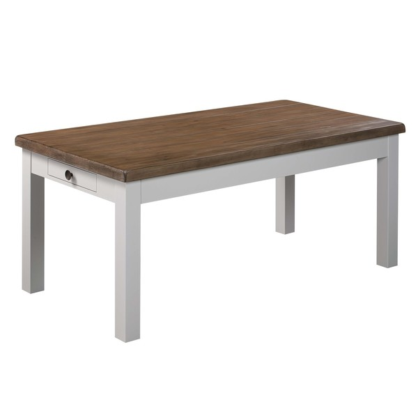 The Hampton Collection Two Drawer Dining Table