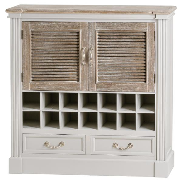 The Liberty Collection Two Door Two Drawer Drinks Cabinet