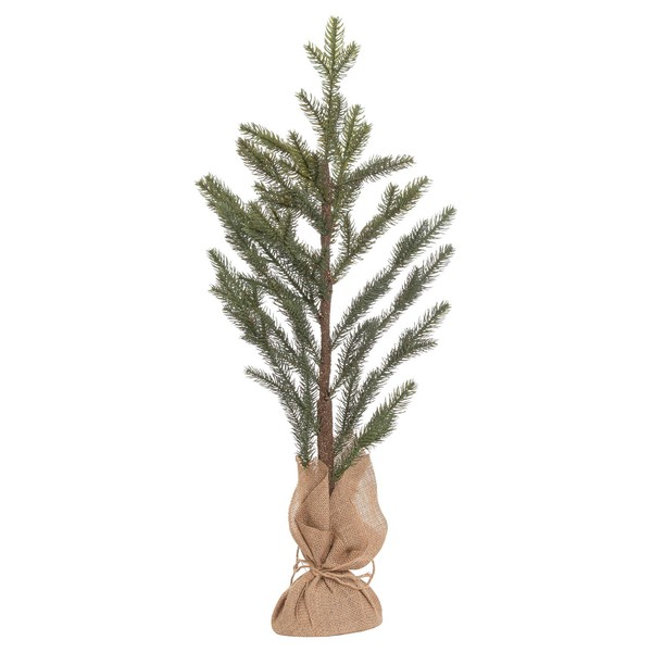 The Noel Collection Artificial Pine Tree In Hessian Pot