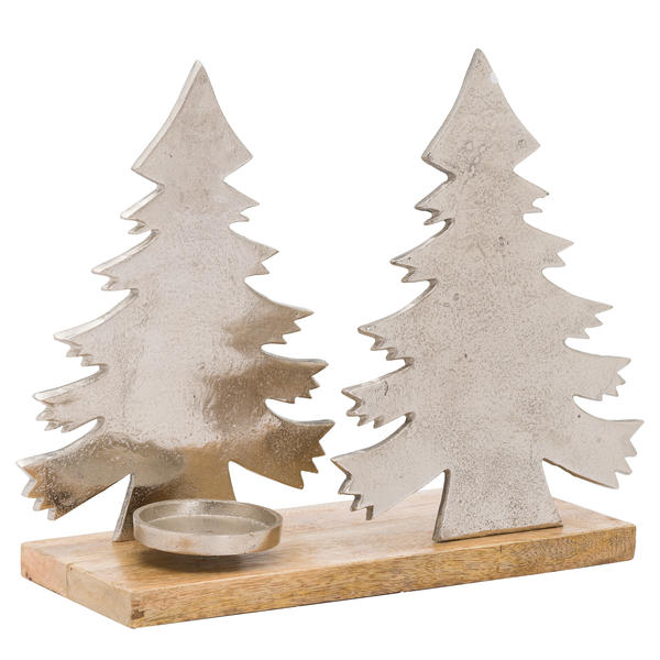 The Noel Collection Christmas Tree Tea Light Holder