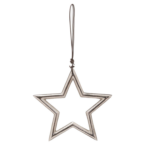The Noel Collection Hanging Small Silver Star