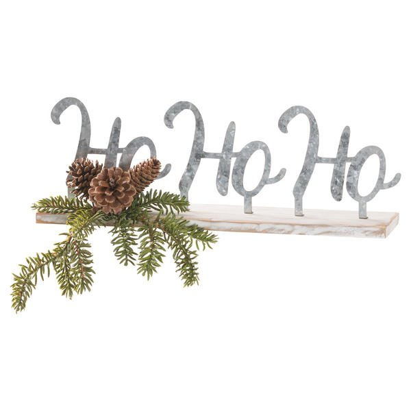The Noel Collection Ho Ho Ho Table Sitting Sign