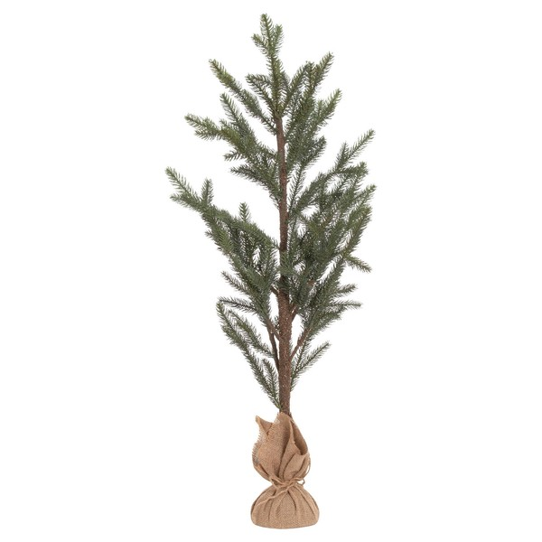 The Noel Collection Large Artificial Pine Tree Hessian Pot