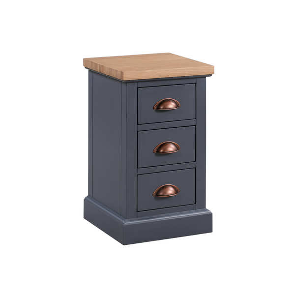 The Richmond Collection Three Drawer Bedside