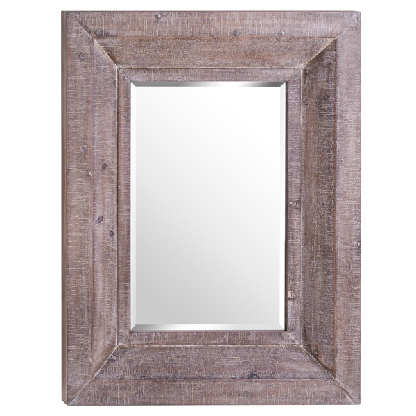 The Wharfedale Reclaimed Wooden Wall Mirror