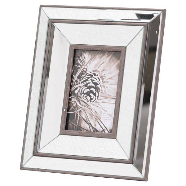 Tristan Mirror And Wood 4X6 Photo Frame