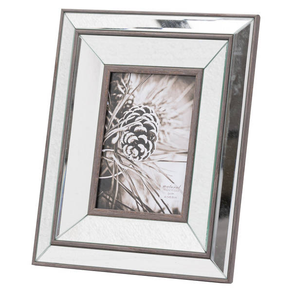 Tristan Mirror And Wood 5X7 Photo Frame