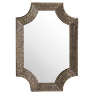 Image 1 - Ages Antique Bronze Detailed Wall Mirror