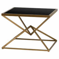 Image 1 - Antique Bronze Contemporary Display Sidetable