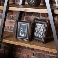 Image 3 - Antique Gold With Black Detail Photo Frame 5X7