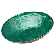 Image 1 - Aztec Collection Brass Embossed Ceramic Dipped Bowl