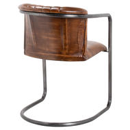 Image 2 - Billy Leather Dining Chair