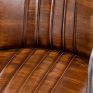 Image 3 - Billy Leather Dining Chair