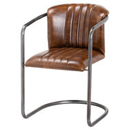 Image 1 - Billy Leather Dining Chair