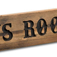 Image 2 - Boys Room Rustic Wooden Message Plaque