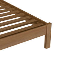 Image 3 - Brook Cottage Collection King-size Bed Frame