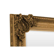 Image 3 - Caselotti Mirror Collection Lily Mirror Gold