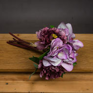 Image 1 - Dusty Pink Hydrangea And Rose Bouquet