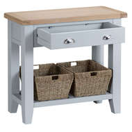 Image 4 - Easby Collection Grey Console Table
