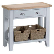 Image 1 - Easby Collection Grey Console Table