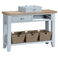 Image 2 - Easby Collection Grey Large Console Table