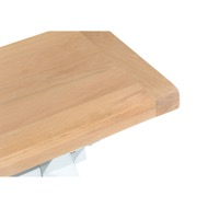Image 4 - Easby Collection White Small Cross Bench