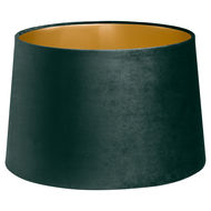 Image 1 - Emerald Green Velvet Lamp And Ceiling Shade