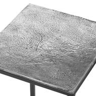 Image 5 - Farrah Collection Silver Nest Of Three Tables