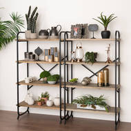Image 3 - Four Tier Shelf Cross Section Industrial Display Unit