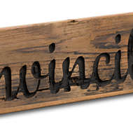 Image 2 - Ginvincible Rustic Wooden Message Plaque