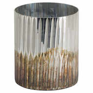 Image 1 - Grey And  Bronze Large Ombre Candle Holder
